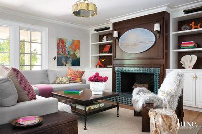 Painting featured in Luxe Interiors + Design Magazine